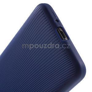 Tenký pogumovaný obal pre Samsung Galaxy Grand Prime - tmavo modrý - 4
