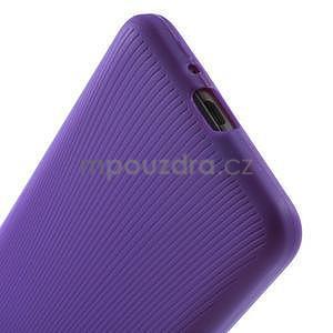 Tenký pogumovaný obal pre Samsung Galaxy Grand Prime - fialový - 4