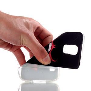 Rich gélový obal pre Samsung Galaxy S5 - monster úsmev - 4