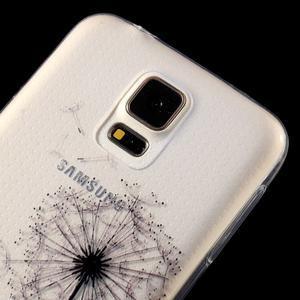Ultratenký slim gélový obal pre Samsung Galaxy S5 - láska - 4
