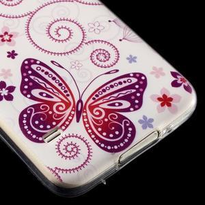 Ultratenký slim gelový obal na Samsung Galaxy S5 - motýlek - 4