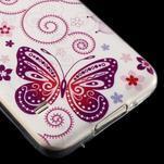 Ultratenký slim gelový obal na Samsung Galaxy S5 - motýlek - 4/4
