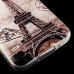 Ultratenký slim gelový obal na Samsung Galaxy S5 - Eiffelova věž - 4/4