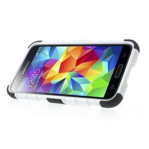 Outdoor odolný kryt pre mobil Samsung Galaxy S5 - biely - 4