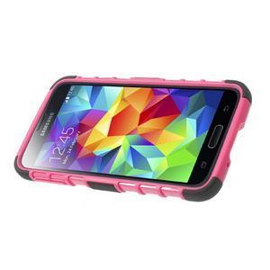 Outdoor odolný kryt pre mobil Samsung Galaxy S5 - rose - 4