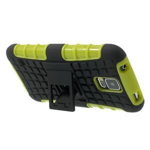 Outdoor odolný kryt pre mobil Samsung Galaxy S5 - zelený - 4