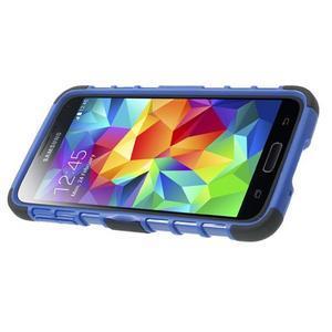 Outdoor odolný kryt pre mobil Samsung Galaxy S5 - modrý - 4