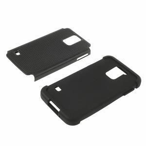 Odolný obal 2v1 pre mobil Samsung Galaxy S5 - čierný - 4