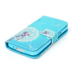 Stand peňaženkové puzdro pre Samsung Galaxy S5 mini - odkvetlá púpava - 4