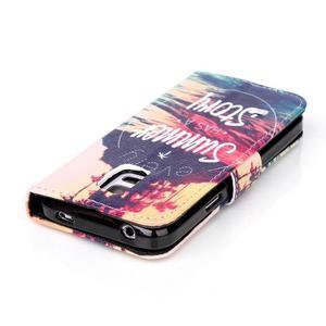 Stand peňaženkové puzdro pre Samsung Galaxy S5 mini - pribeh - 4
