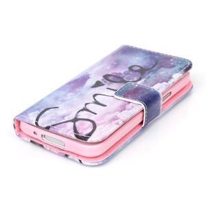 Stand peňaženkové puzdro pre Samsung Galaxy S5 mini - smile - 4