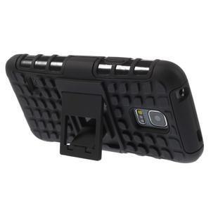 Outdoor odolný obal pre mobil Samsung Galaxy S5 mini - čierný - 4