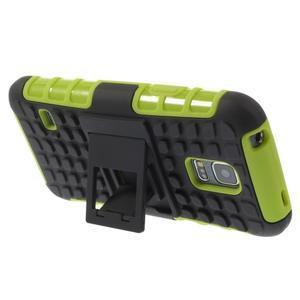 Outdoor odolný obal na mobil Samsung Galaxy S5 mini - zelený - 4