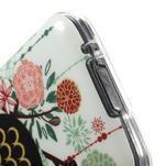 Owls gélový obal pre Samsung Galaxy S5 mini - paní sova - 4/4