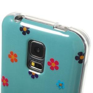 Owls gélový obal pre Samsung Galaxy S5 mini - soví pár - 4