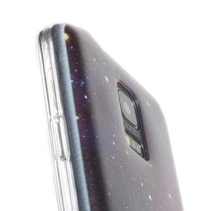 Ultratenký obal na mobil Samsung Galaxy S5 mini - galaxie - 4