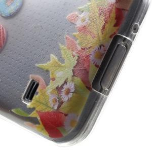 Gélový kryt pre mobil Samsung Galaxy S5 mini - donut - 4