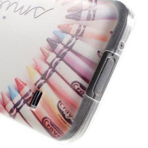 Gélový kryt pre mobil Samsung Galaxy S5 mini - smile - 4
