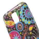 Softy gélový obal pre Samsung Galaxy S5 mini - farebné kruhy - 4/5