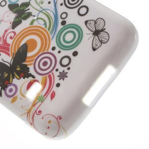 Softy gélový obal pre Samsung Galaxy S5 mini - magické motýle - 4