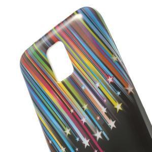 Softy gélový obal pre Samsung Galaxy S5 mini - meteor - 4