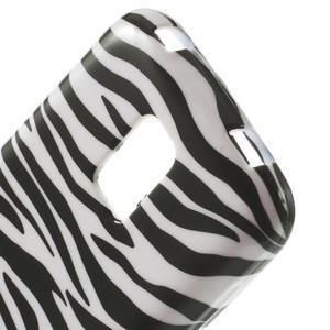 Softy gélový obal pre Samsung Galaxy S5 mini - zebra - 4