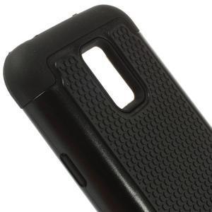 Odolný kryt 2v1 pre mobil Samsung Galaxy S5 mini - čierný - 4