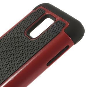 Odolný kryt 2v1 pre mobil Samsung Galaxy S5 mini - červený - 4