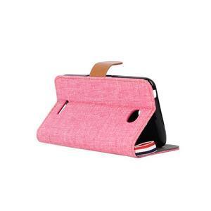 Jeans pouzdro na mobil Sony Xperia E4 - růžové - 4