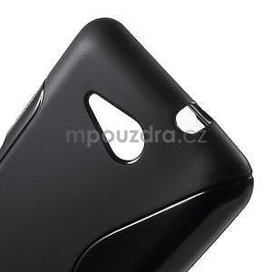 S-line gélový obal pre Sony Xperia E4g - čierny - 4