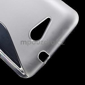 S-line gélový obal pre Sony Xperia E4g - transparentný - 4