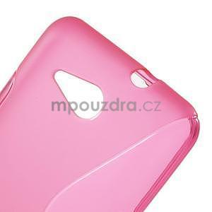 S-line gélový obal pre Sony Xperia E4g -  rose - 4