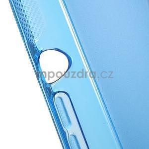 S-line gélový obal pre Sony Xperia E4g -  modrý - 4