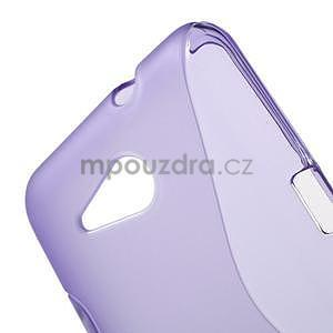 S-line gélový obal pre Sony Xperia E4g -  fialový - 4