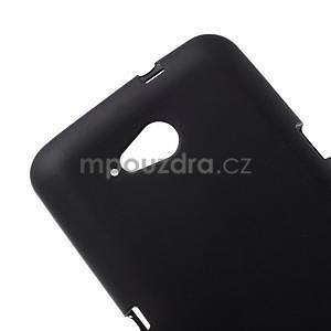 Obal z matného gélu pre Sony Xperia E4g - čierny - 4