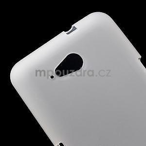 Obal z matného gélu pre Sony Xperia E4g - biely - 4