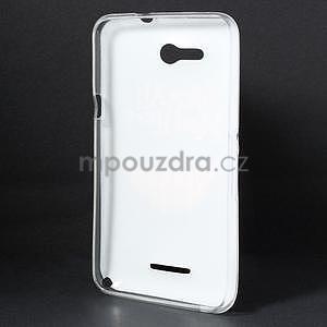 Gélový obal na Sony Xperia E4g - úsmev - 4