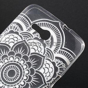 Gélový obal pre Sony Xperia E4g - henna - 4