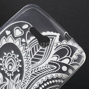 Gélový obal pre Sony Xperia E4g -  lotos - 4