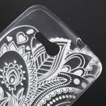 Gélový obal pre Sony Xperia E4g -  lotos - 4/5