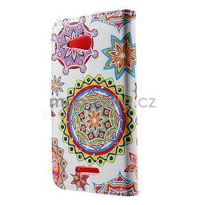 Peňaženkové puzdro pre Sony Xperia E4g - mandala - 4