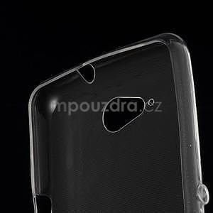 Ultra tenký gélový obal na Sony Xperia E4g - transparentný - 4