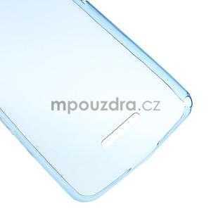 Ultra tenký gélový obal pre Sony Xperia E4g -  modrý - 4