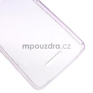 Ultra tenký gélový obal na Sony Xperia E4g -  fialový - 4