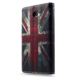 Standy Peňaženkové puzdro Sony Xperia M2 Aqua - UK vlajka - 4