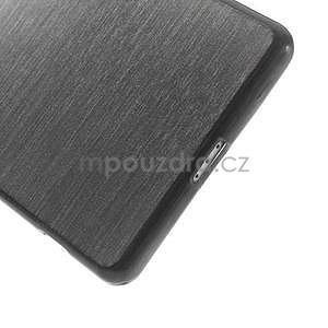 Broušený gelový obal na Sony Xperia Z2 - černý - 4