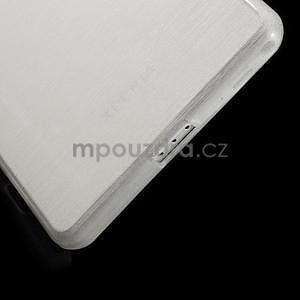 Brúsený gélový obal pre Sony Xperia Z2 - biely - 4