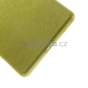 Broušený gelový obal na Sony Xperia Z2 - zelený - 4