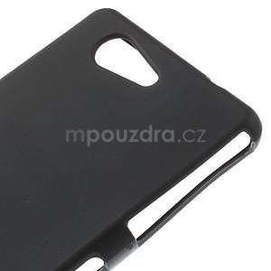 Černý matný gelový obal na Sony Xperia Z3 Compact - 4
