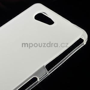 transparentné matný gélový obal pre Sony Xperia Z3 Compact - 4